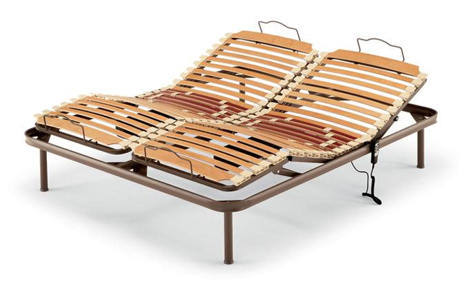 Reti letto ennerev 5 casa del materasso padova - Reti da letto elettriche ...
